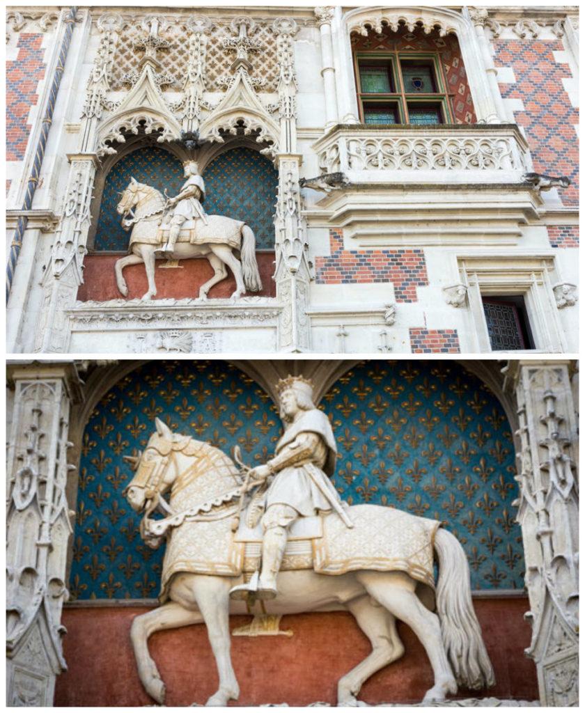 Facade equestre Blois