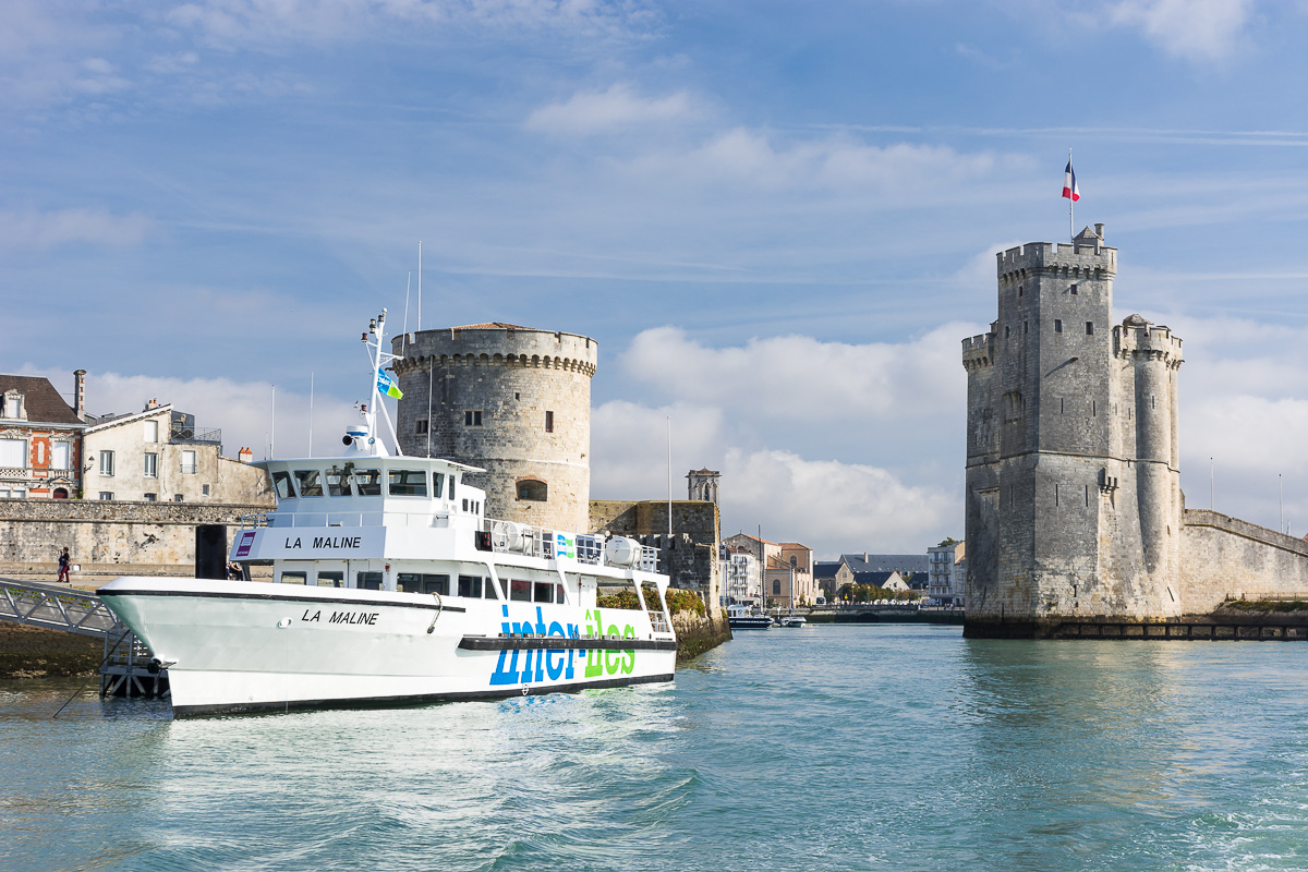 Sortie du port de La Rochelle