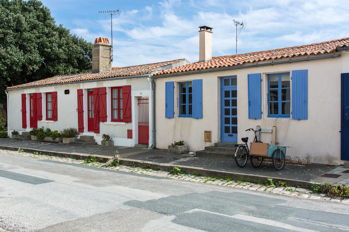 Maisons sur l'Ile d'Aix