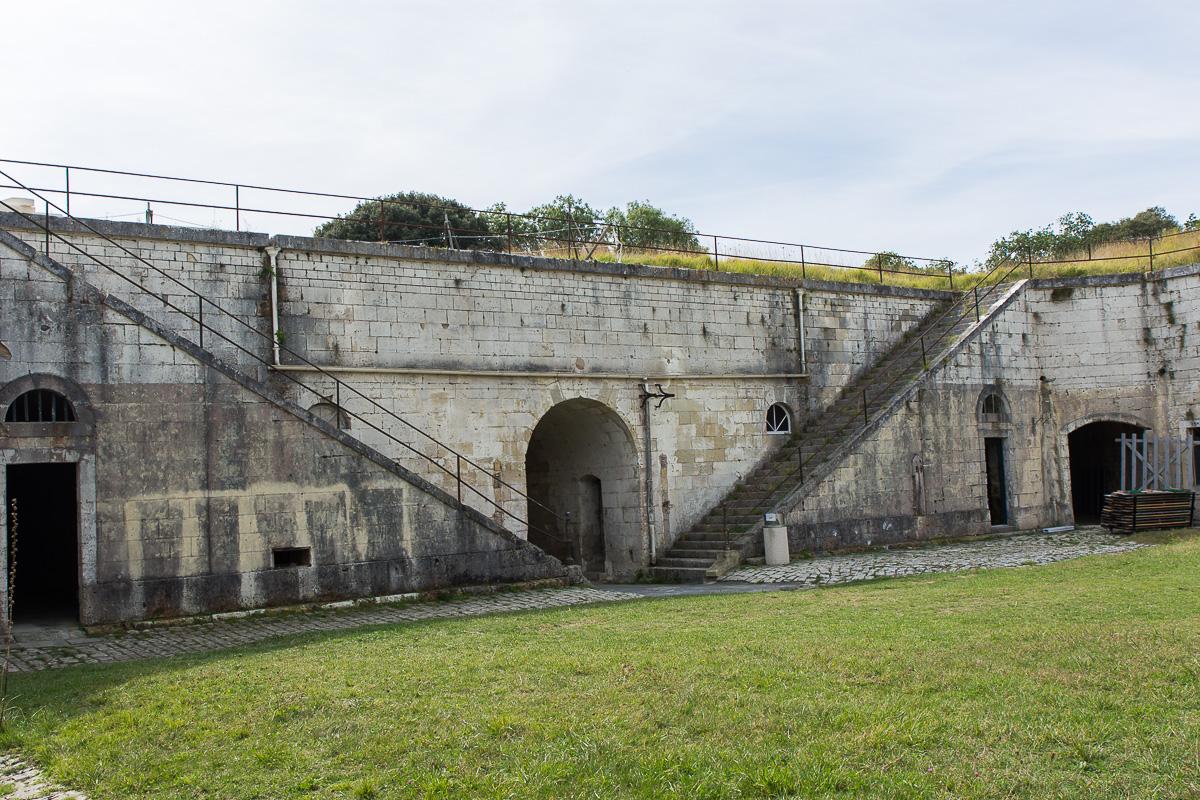 Intérieur du Fort Liédot