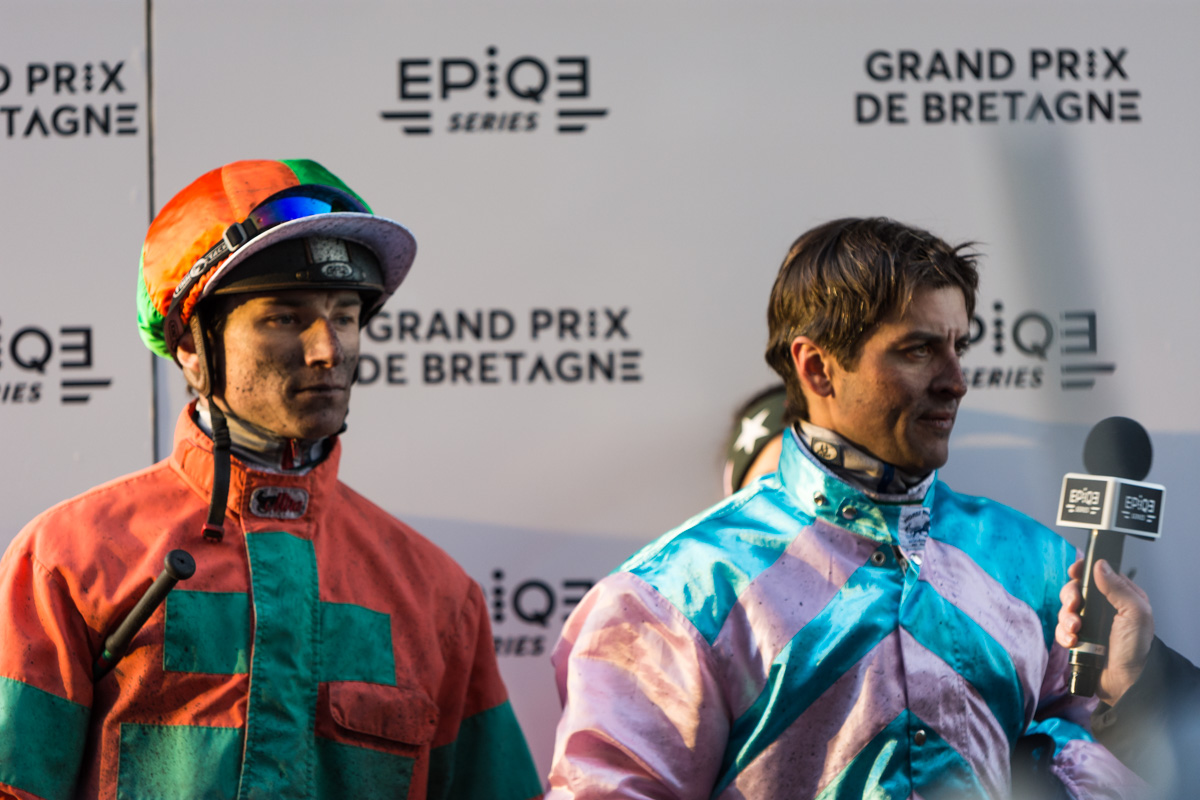 Eric Raffin et David Thomain