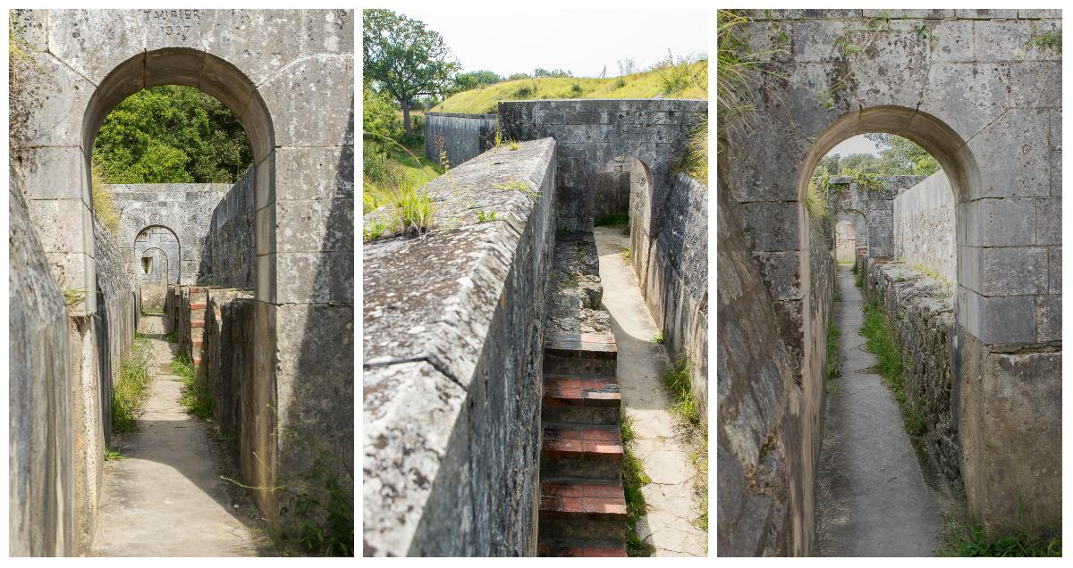 Chemin de ronde Fort Liédot