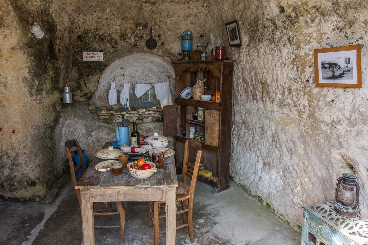 Cuisine des grottes du Régulus
