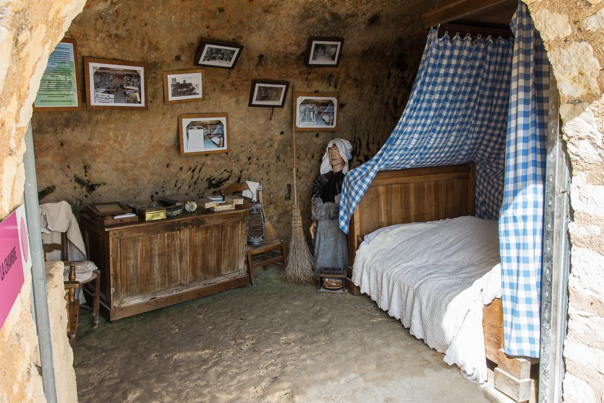 Chambre dans les grottes du Régulus