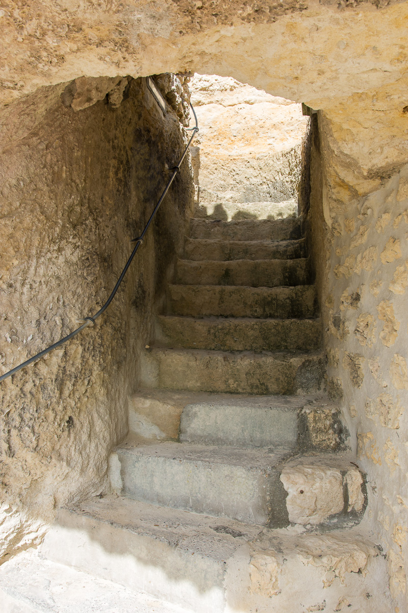 Fin de visite des grottes du Régulus