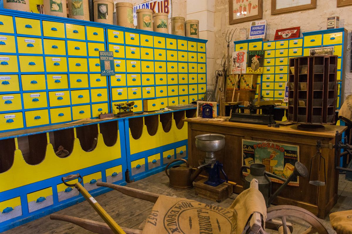 la graineterie-Musée commerces autrefois by ArnaudDPhotography