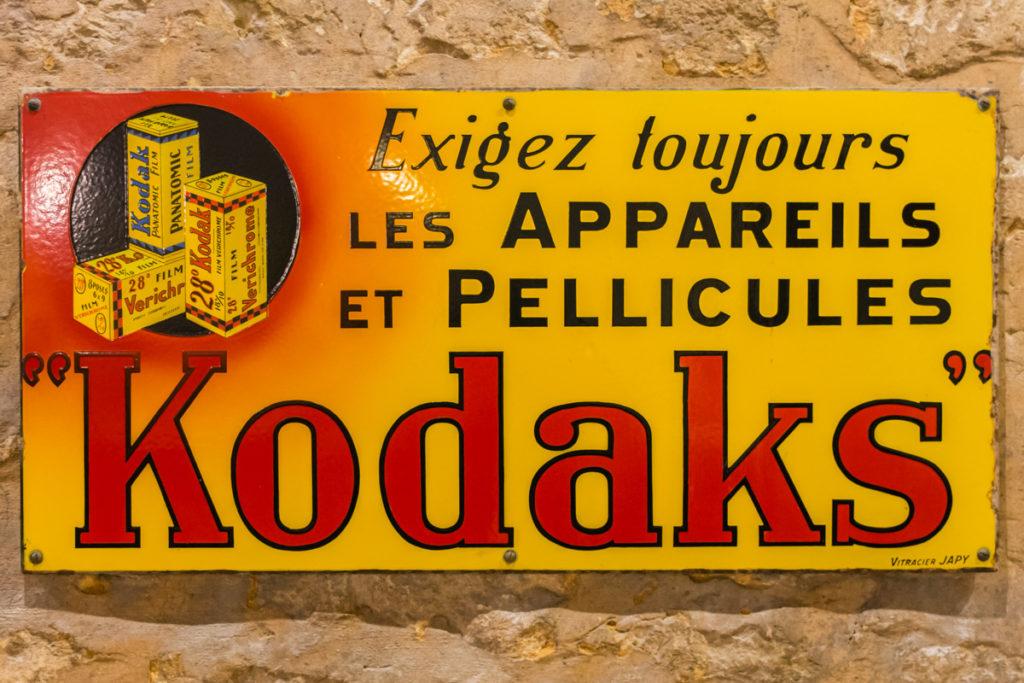 plaque Kodaks-Musée commerces autrefois by ArnaudDPhotography