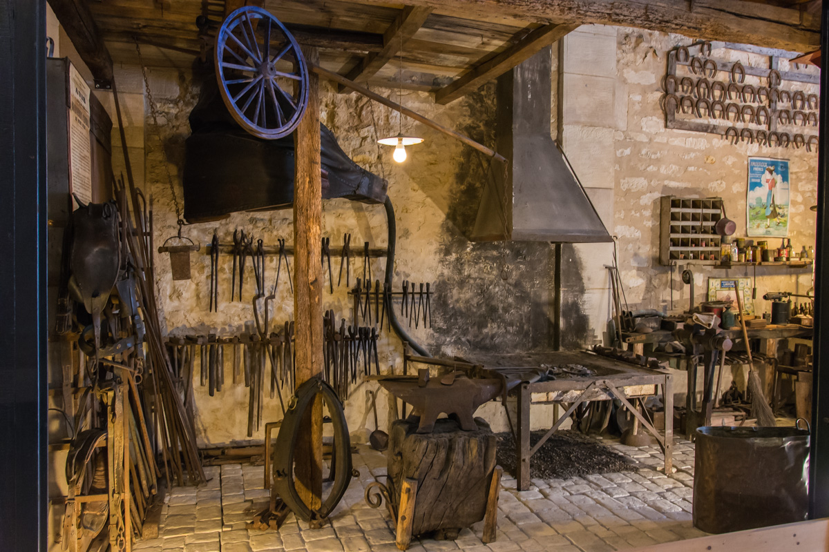 forge-Musée commerces autrefois by ArnaudDPhotography