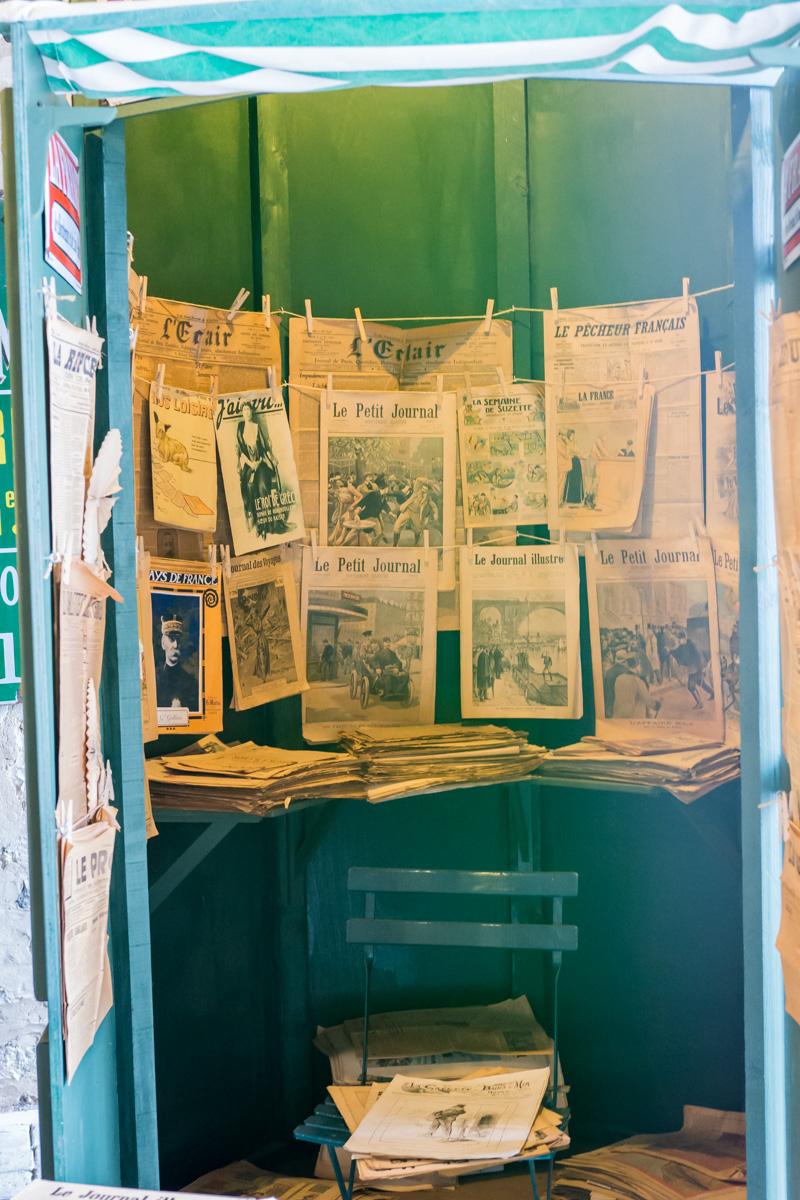 kiosque 2-Musée commerces autrefois by ArnaudDPhotography