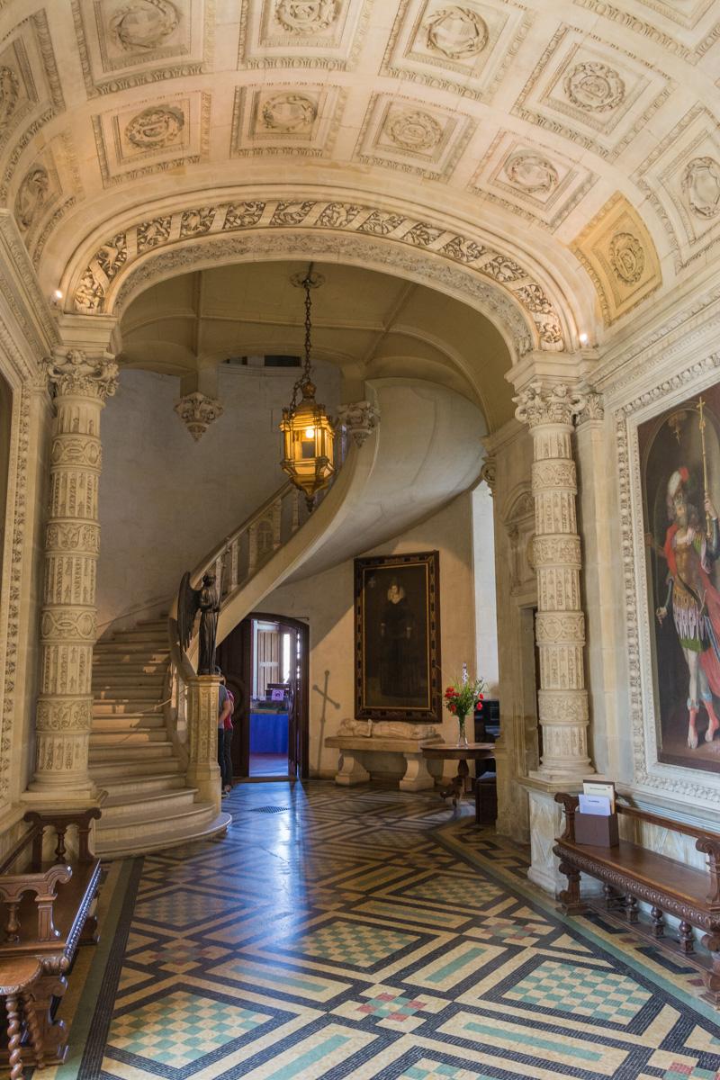 Couloir du chateau du Lude