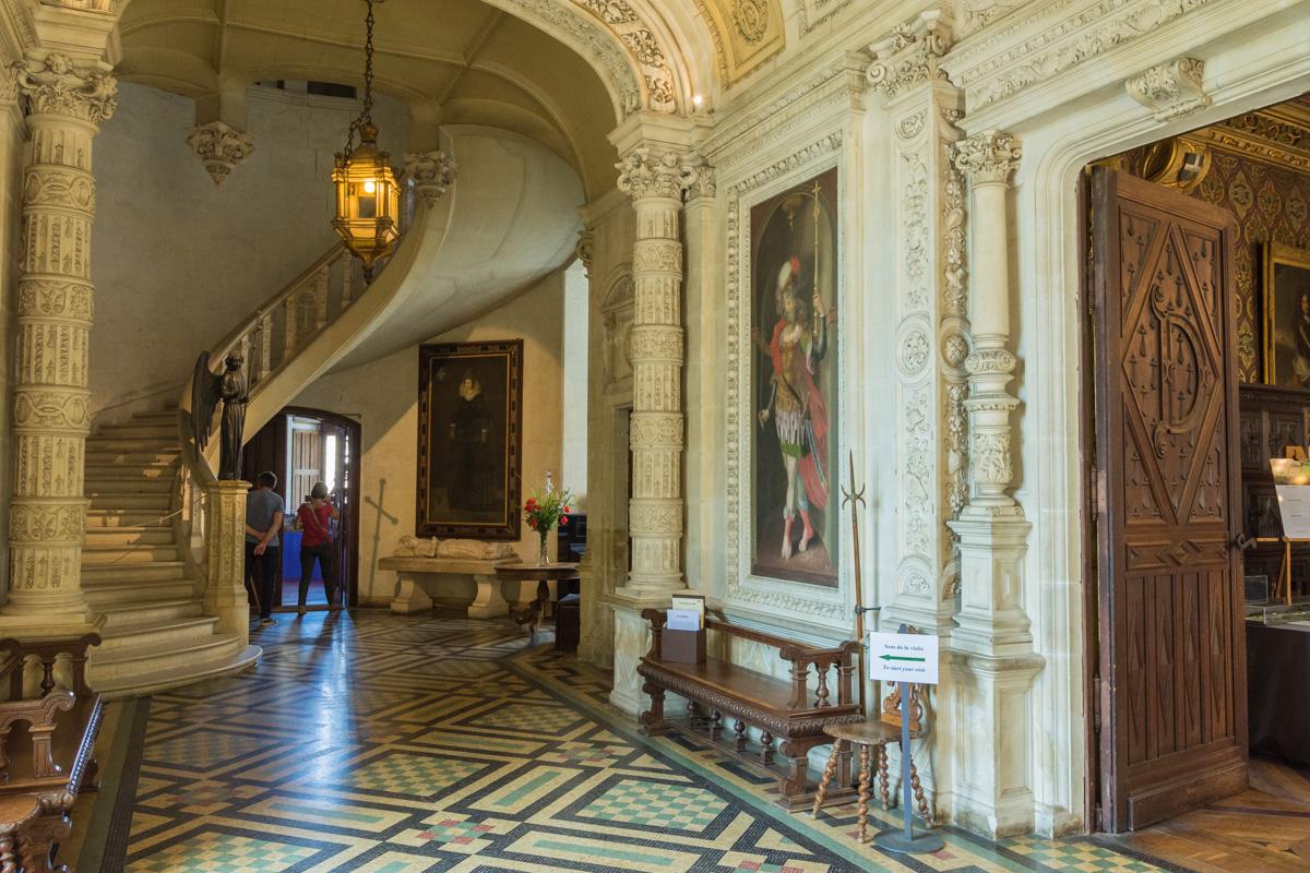 Vestibule du chateau du Lude