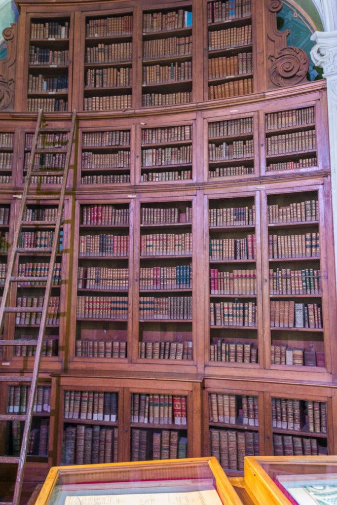 Bibliothèque du chateau du Lude