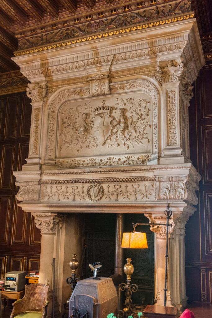 cheminée du chateau du Lude