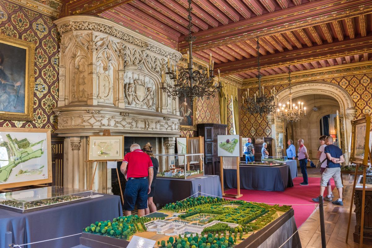 intérieur chateau du Lude