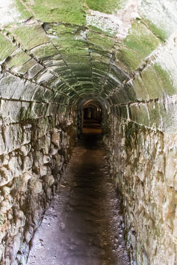 souterrains du chateau du Lude