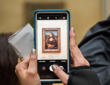 Musée Louvre-La Joconde en abyme