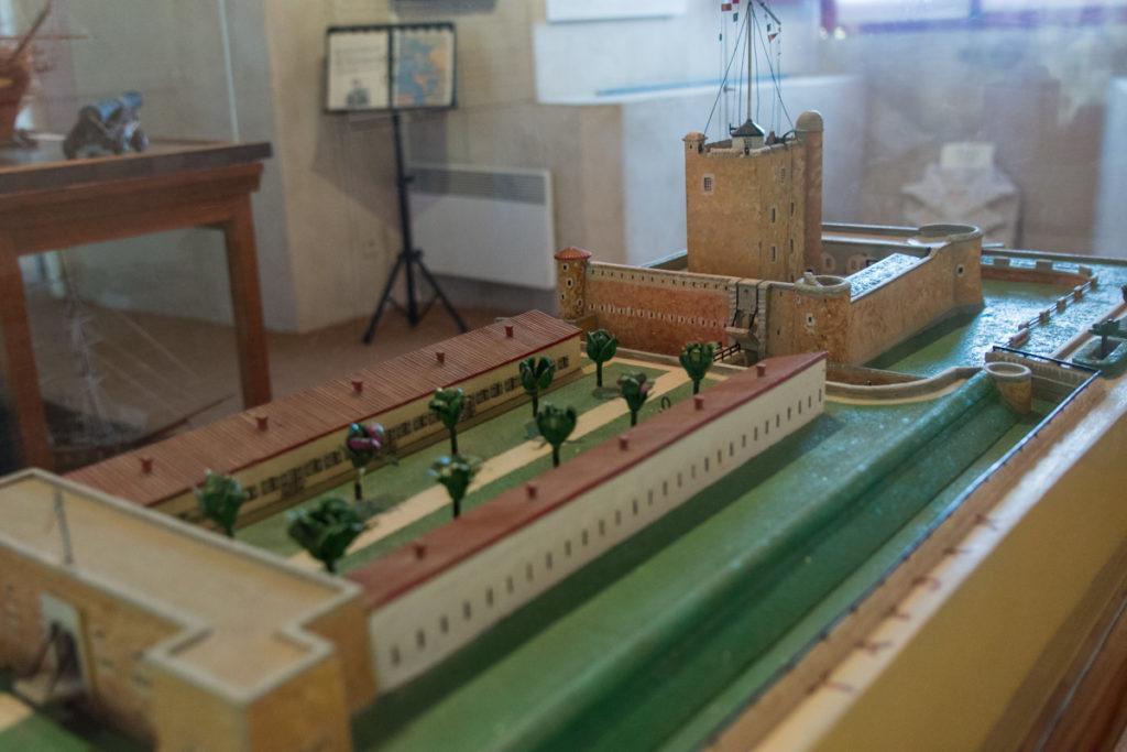 Maquette Fort Vauban-Musée Histoire Régionale