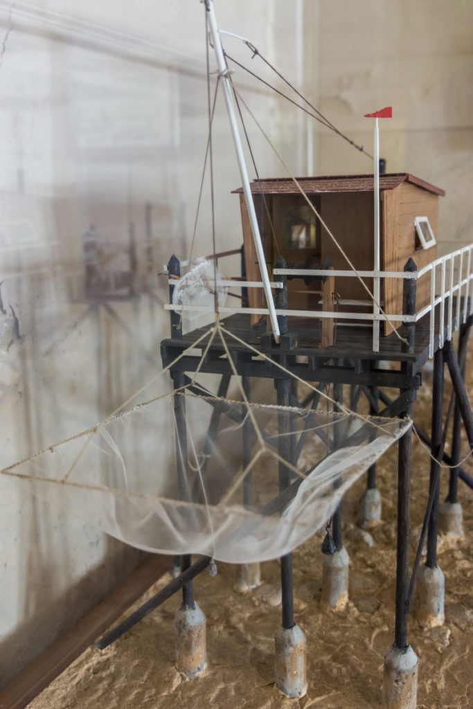 Maquette Carrelet- Fort Vauban-Musée Histoire Régionale