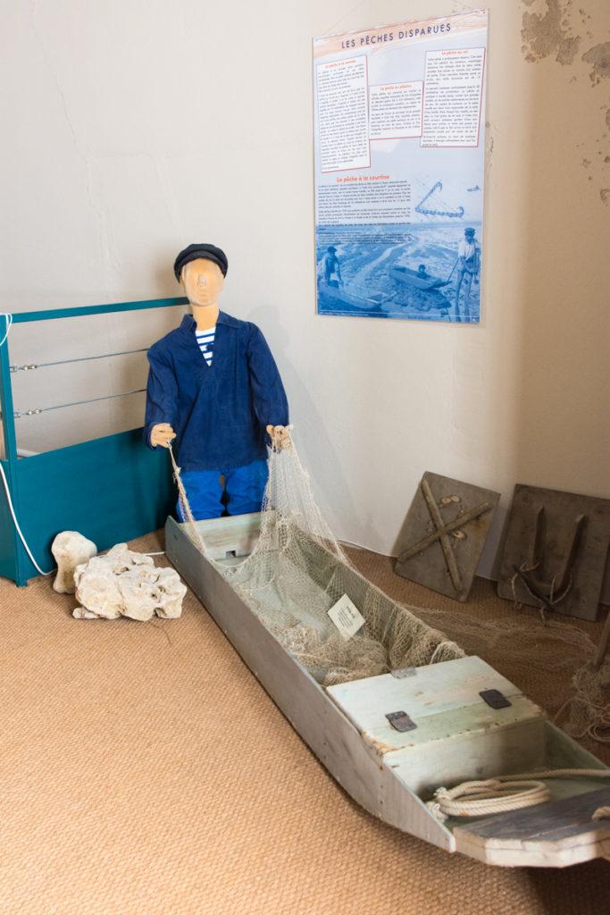 Maquette pêcheur- Fort Vauban-Musée Histoire Régionale