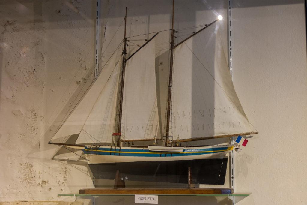 Maquette bateau- Fort Vauban-Musée Histoire Régionale