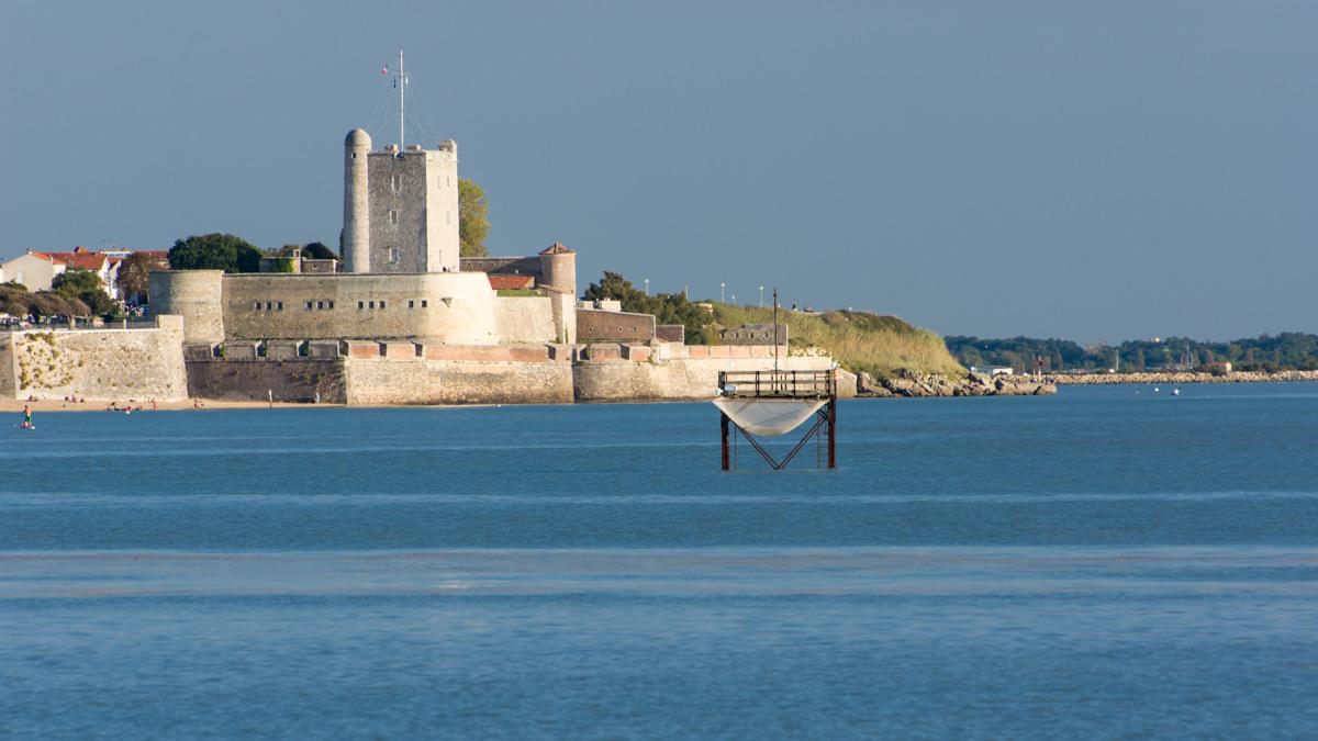 Vue sur Fort Vauban - Fouras