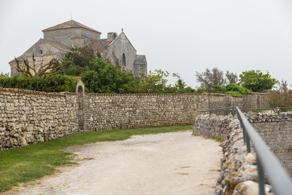 Promenade rempart Talmont sur Gironde