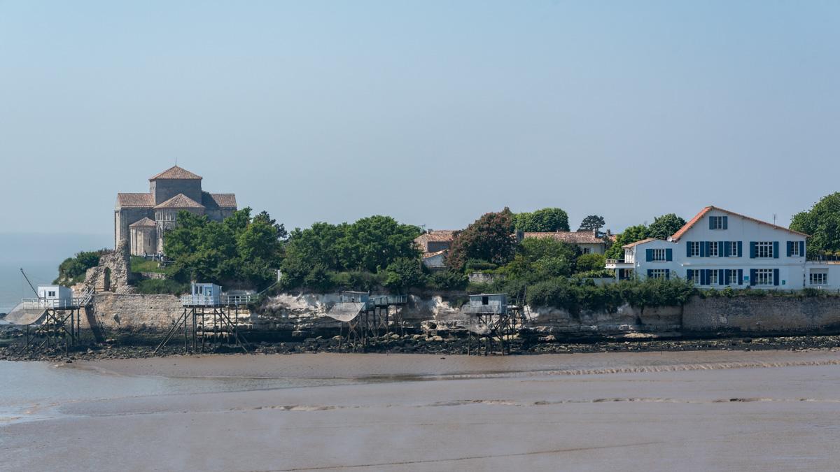 Vue sur Talmont sur Gironde