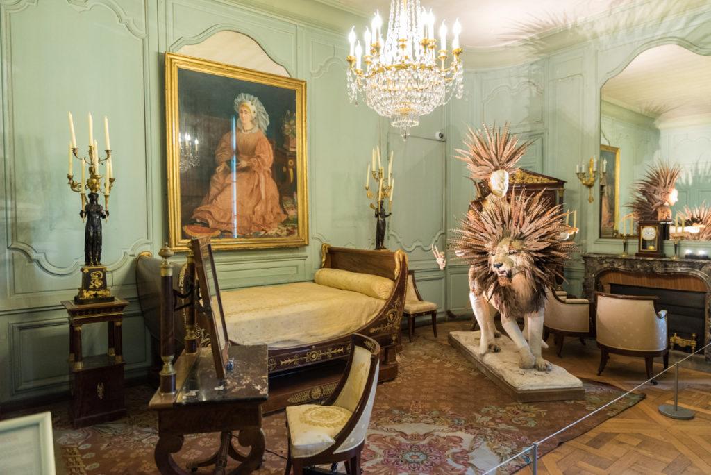 Chambre de l'Empereur-Chateau de Rambouillet