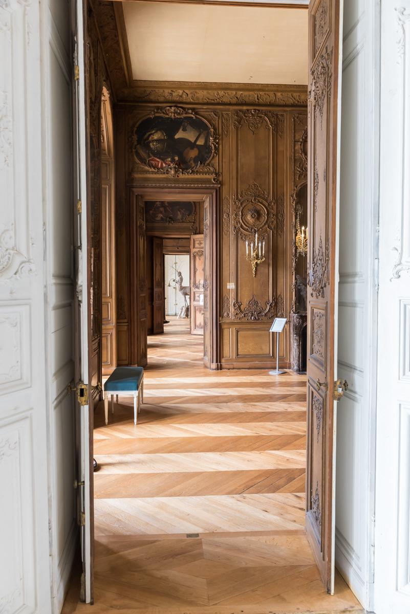 Enfilade-Chateau de Rambouillet