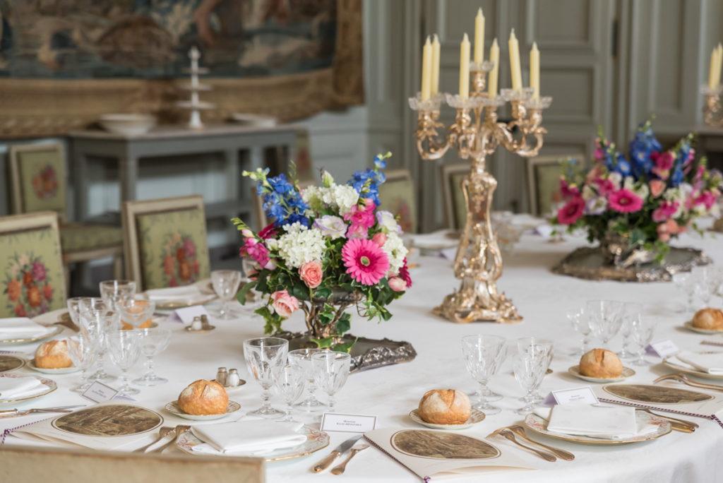Repas de chefs d'état-Chateau de Rambouillet