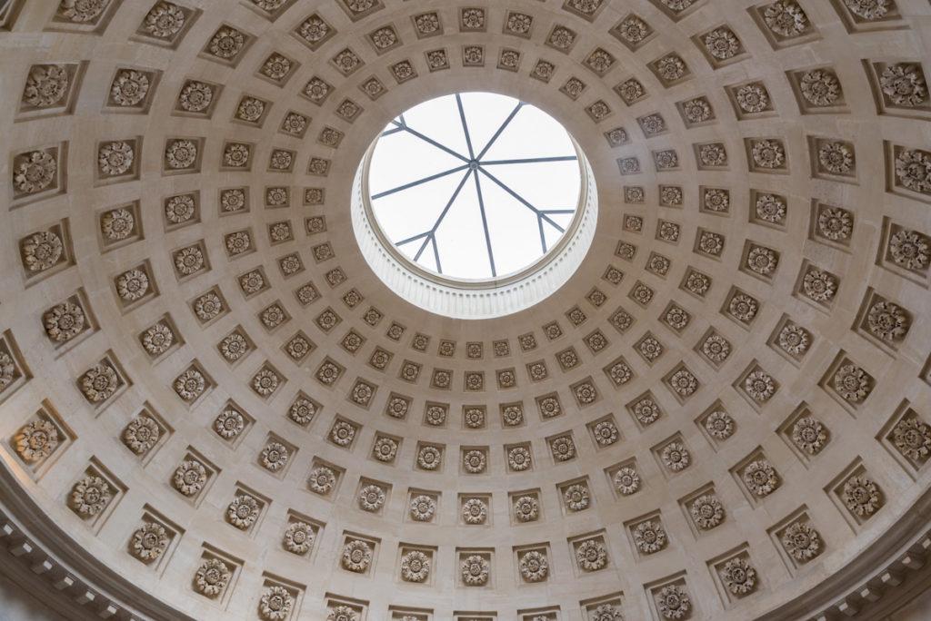 Plafond de la laiterie de la Reine-Rambouillet