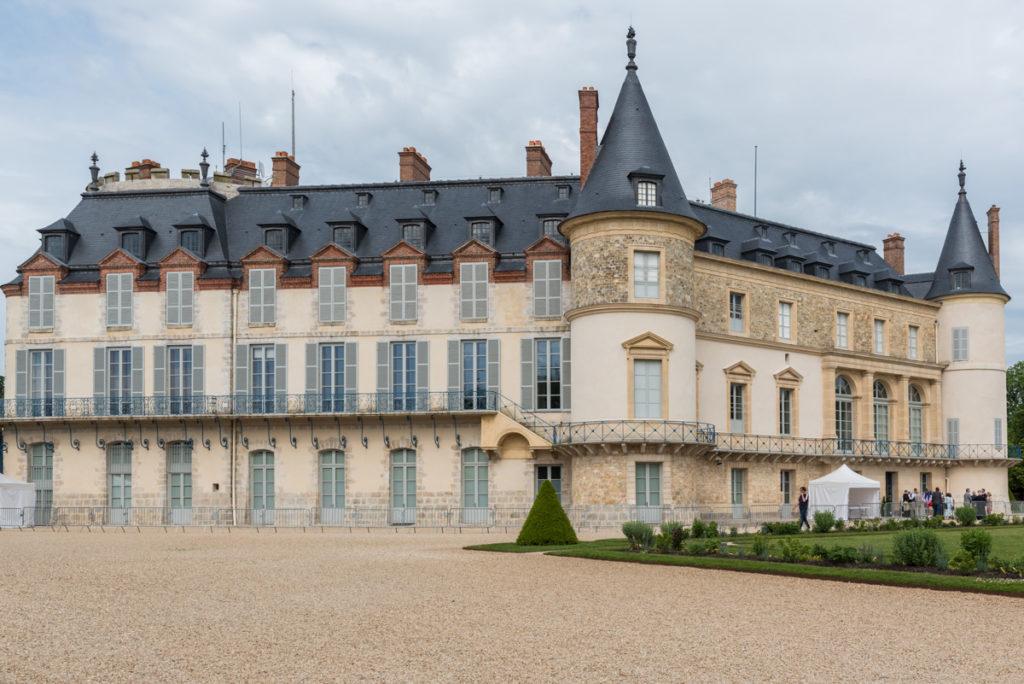 Vue latérale Chateau de Rambouillet