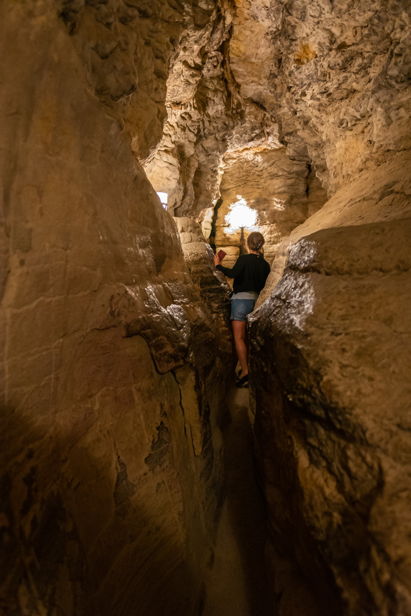 grottes de la balme-labyrinthe mandrin