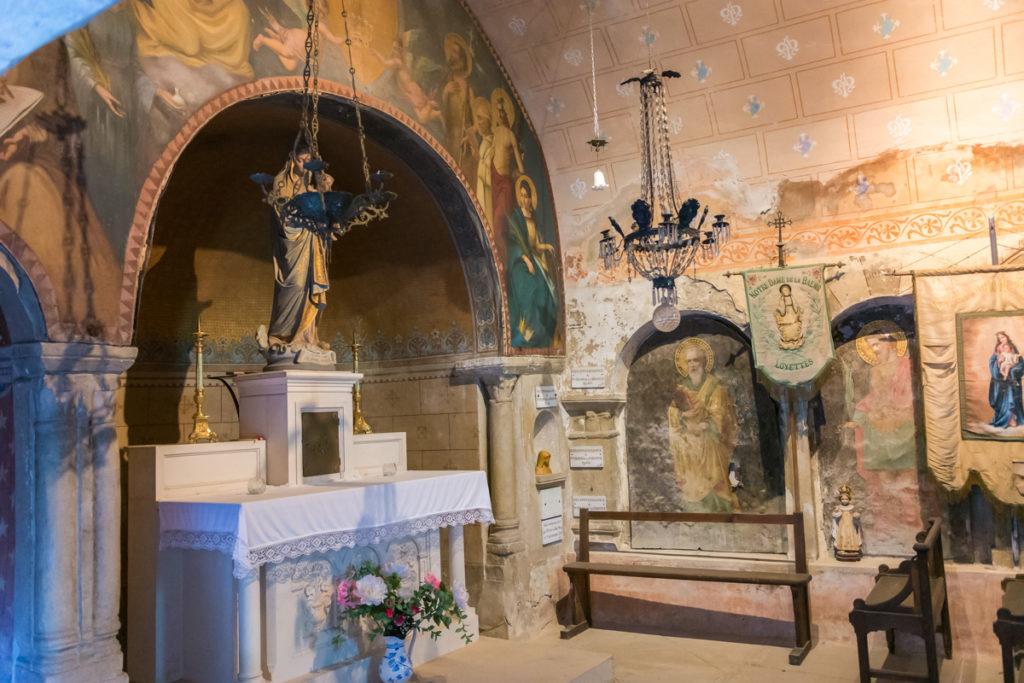 grottes de la balme-chapelle-intérieur