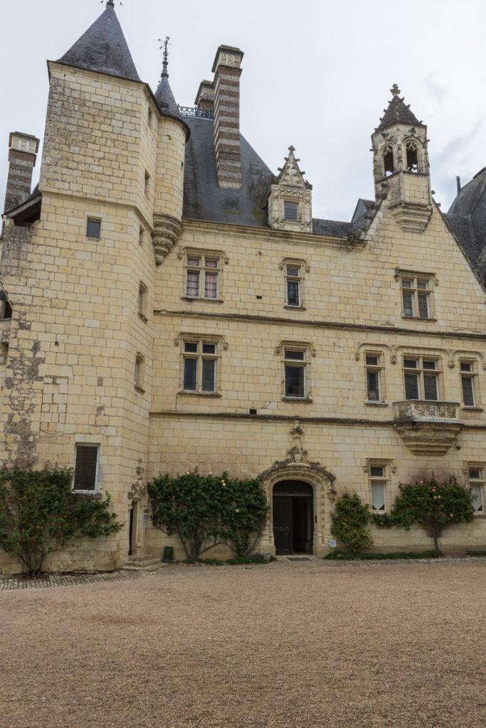 Chateau Ussé-façade