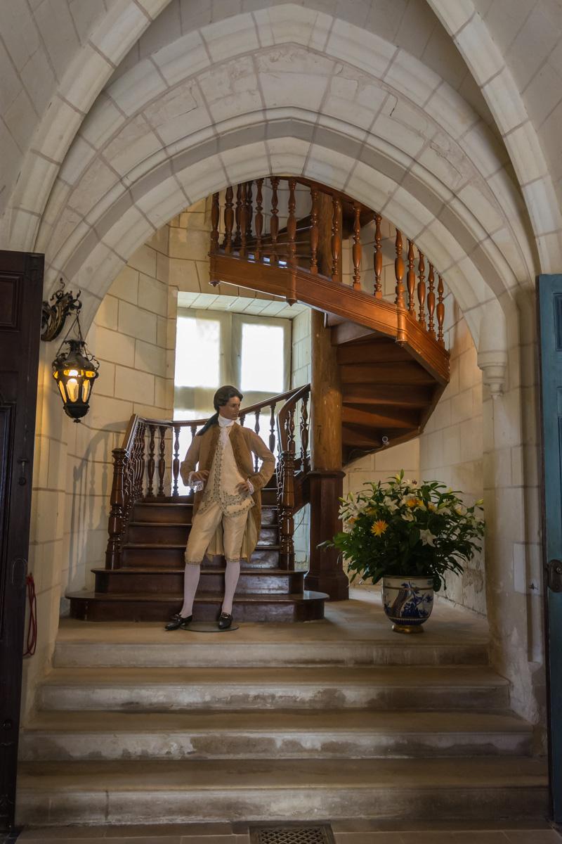 Chateau Ussé-hall-entrée