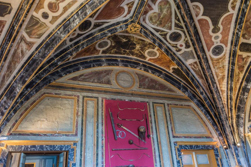 Chateau Ussé-salle des gardes