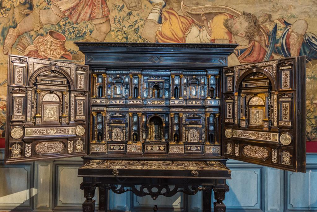 Chateau Ussé-salon vauban-cabinet