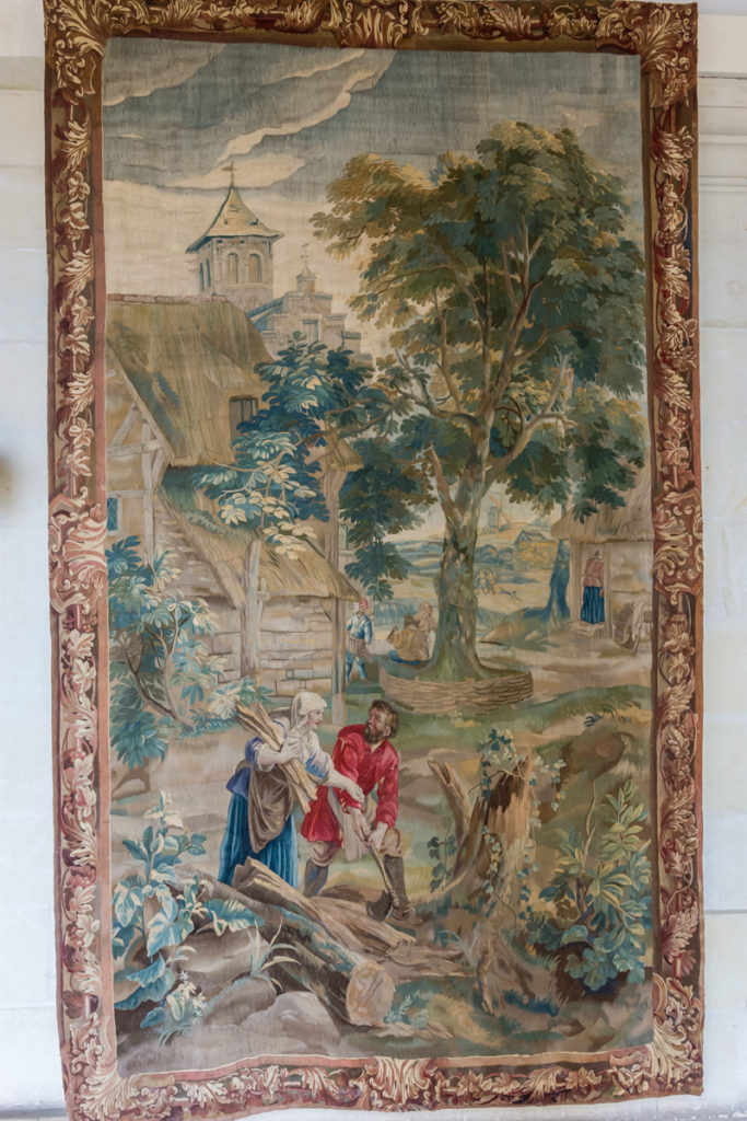 Chateau Ussé-grande galerie-tapisserie