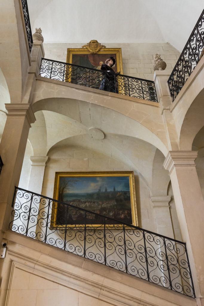 Chateau Ussé-grand escalier