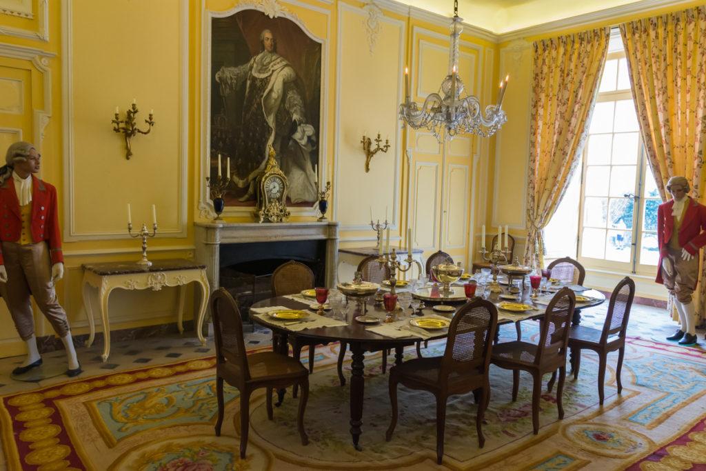Chateau Ussé-salle à manger