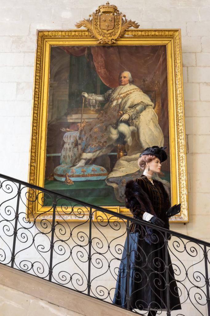 Chateau Ussé-grand escalier 2