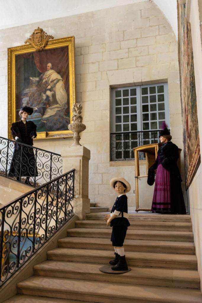 Chateau Ussé-grand escalier 3