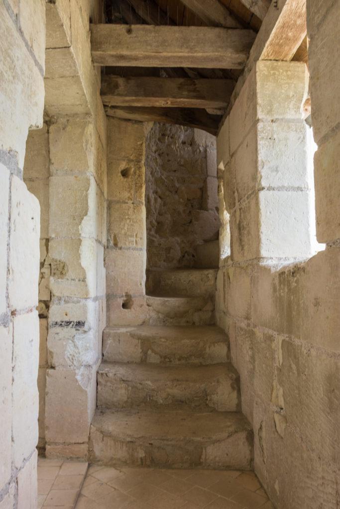 Chateau Ussé-chemin de ronde-sortie