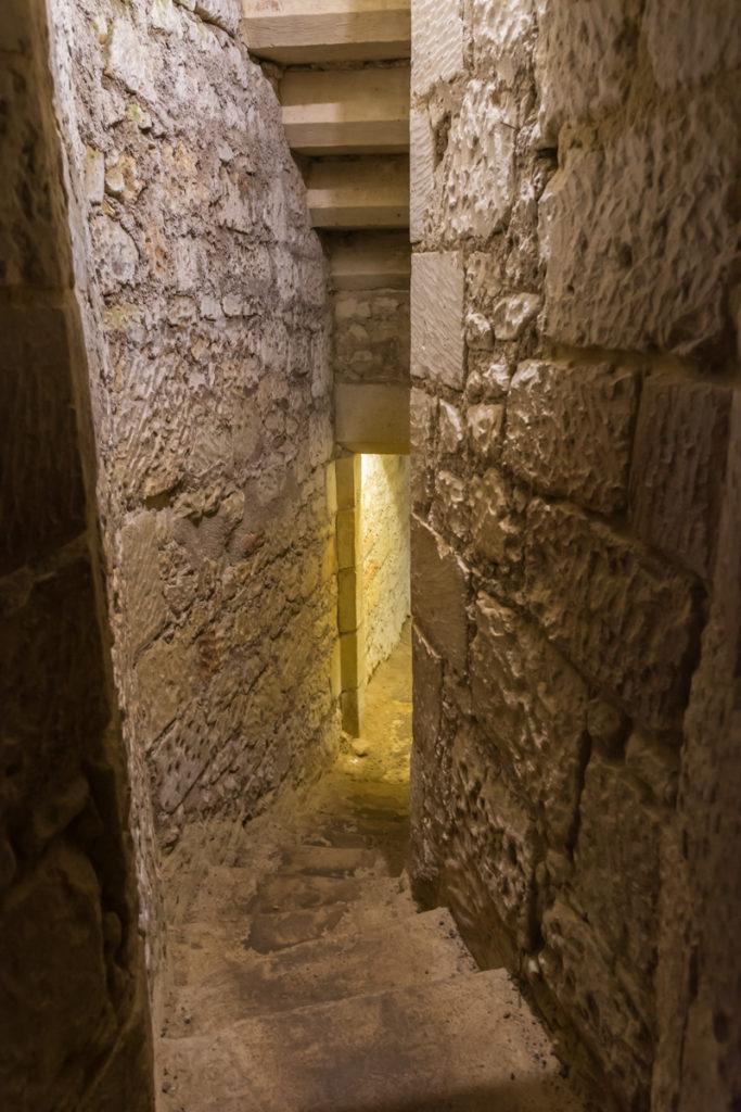 Chateau Ussé-souterrains-couloir
