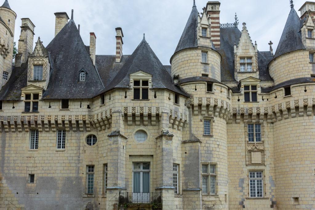 Chateau Ussé-vue latérale 2