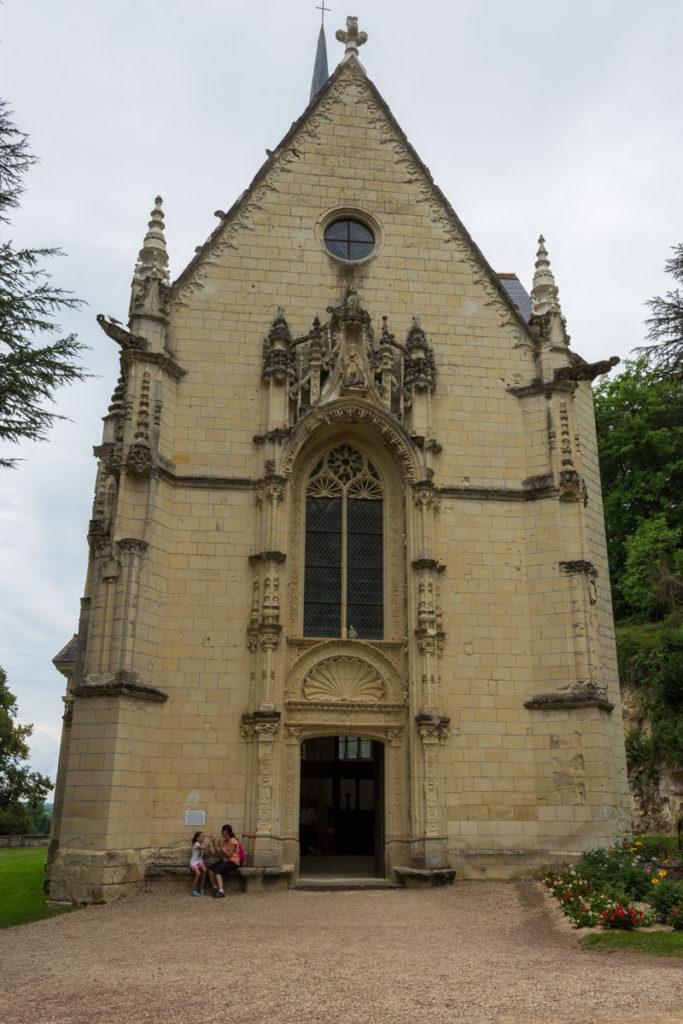 Chateau Ussé-chapelle