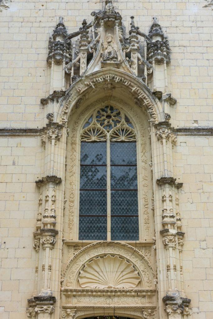Chateau Ussé-chapelle-détail fronton