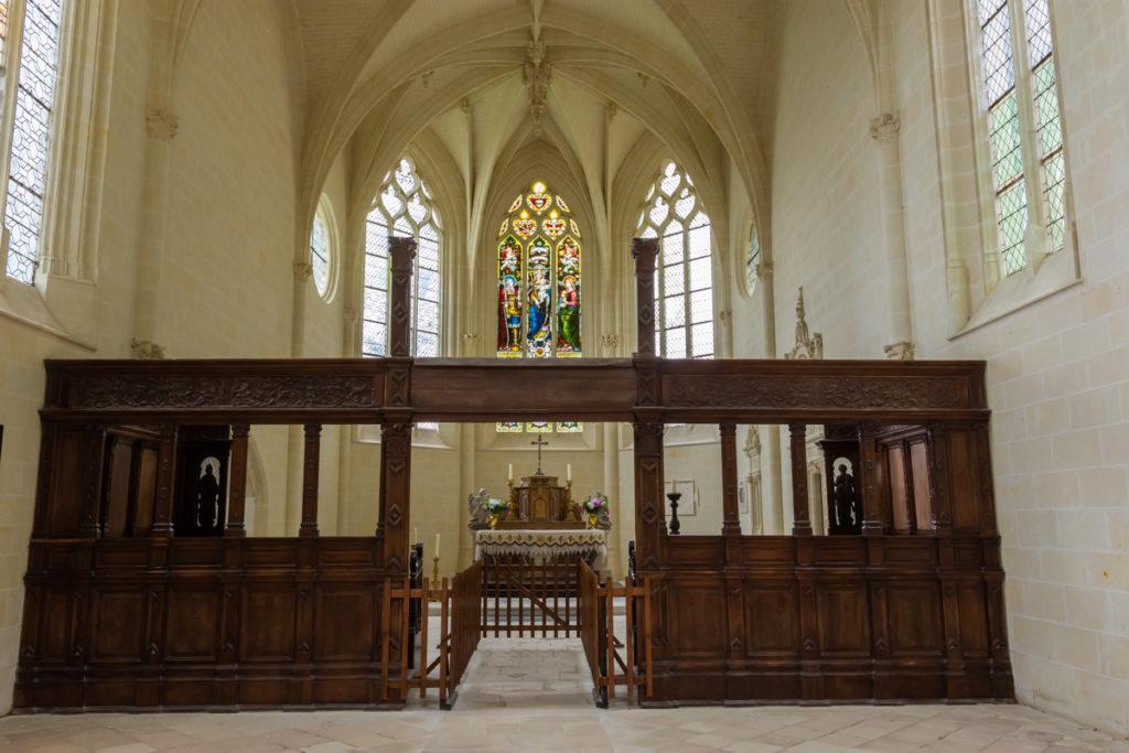 Chateau Ussé-chapelle-intérieur