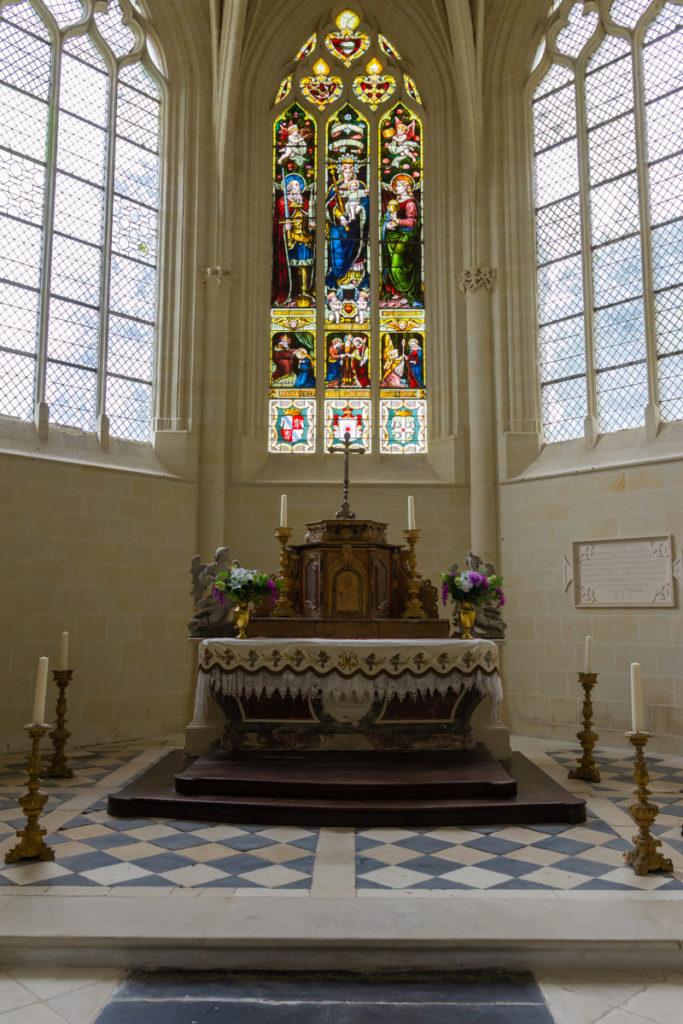 Chateau Ussé-chapelle-autel